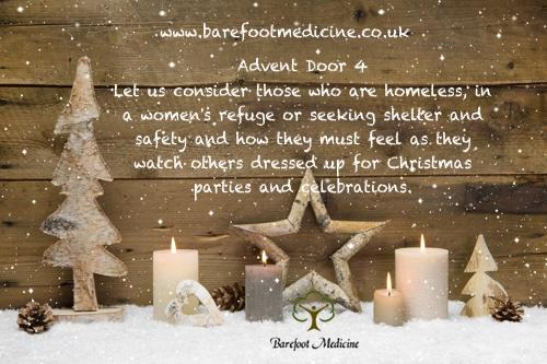 Barefoot Medicine Advent Calendar Door 4